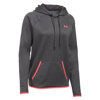 Under Armour Storm Armour Fleece Hoodie Carbon Heather / Pink Shock