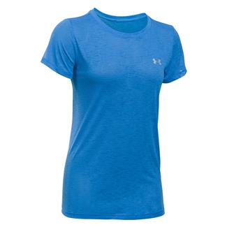 Under Armour Tech Slub T-Shirt Mediterranean / Metallic Silver