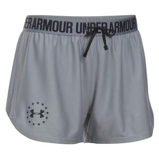 Under Armour HeatGear Freedom Shorts True Gray Heather / Black