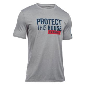 Under Armour Protect This House T-Shirt True Gray Heather