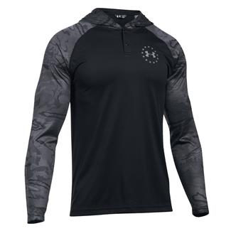 Under Armour Freedom Tech Hoodie Black / Graphite / Black Tonal Reaper