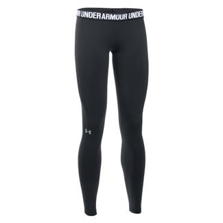 Under Armour Favorite Leggings Black / Metallic Silver