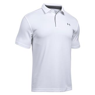 Under Armour Tech Polo White