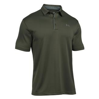 Under Armour Tech Polo Downtown Green