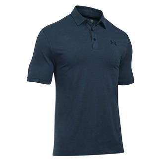 Under Armour Tactical Charged Cotton Polo Dark Navy Blue