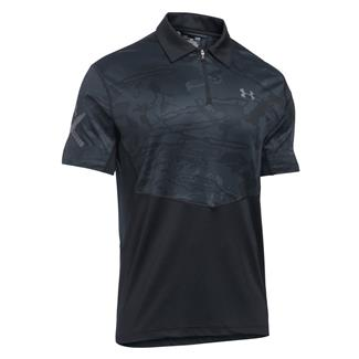 Under Armour Tactical Range Jersey Black / Graphite (Ridge Reaper Black Tonal)