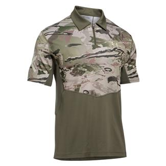 Under Armour Tactical Range Jersey Marine OD Green / Desert Sand
