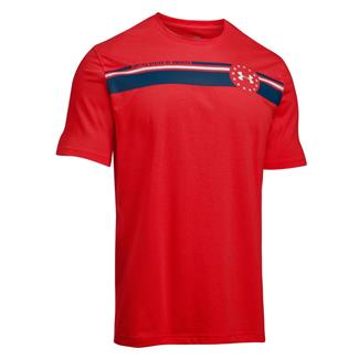 Under Armour 4th of July T-Shirt Red / Blackout Navy