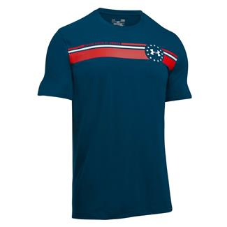 Under Armour 4th of July T-Shirt Blackout Navy / White