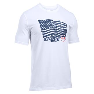 Under Armour Freedom Proud American T-Shirt White / Red