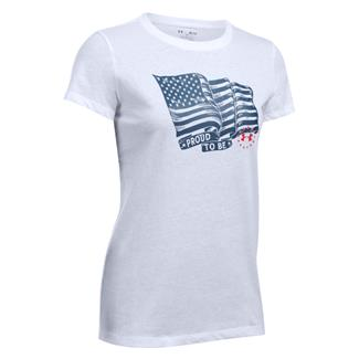 Under Armour Freedom Proud To Be T-Shirt White / Blackout Navy