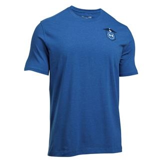 Under Armour Freedom Home Of The Brave T-Shirt Royal / White