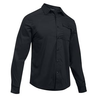 Under Armour Tactical Concealed Carry Button Up Black