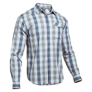 Under Armour Tactical Concealed Carry Button Up Glacier Gray / White (Break Boundaries Plaid)