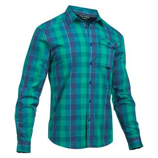 Under Armour Tactical Concealed Carry Button Up Persian / White (Break Boundaries Plaid)