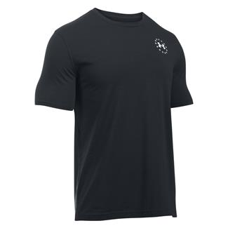 Under Armour Freedom Flag T-Shirt Black / White