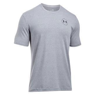 Under Armour Freedom Flag T-Shirt True Gray Heather / Black