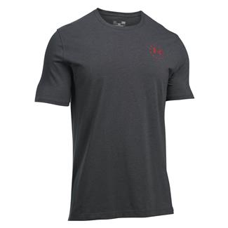 Under Armour Freedom Flag T-Shirt Carbon Heather / Red