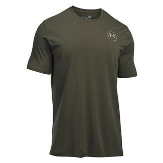 Under Armour Freedom Flag T-Shirt Marine OD Green / Desert Sand