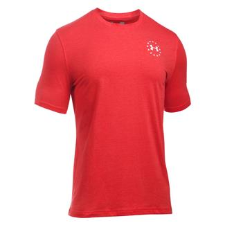 Under Armour Freedom Flag T-Shirt Red / White