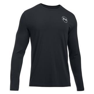 Under Armour Freedom Flag Long Sleeve T-Shirt Black / White