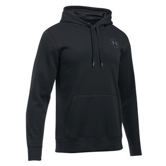 Under Armour Freedom Flag Rival Hoodie Black / Graphite