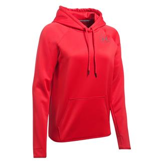 Under Armour Freedom Flag Rival Hoodie Red / Graphite