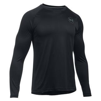 Under Armour Freedom Tech Long Sleeve T-Shirt Black / Graphite