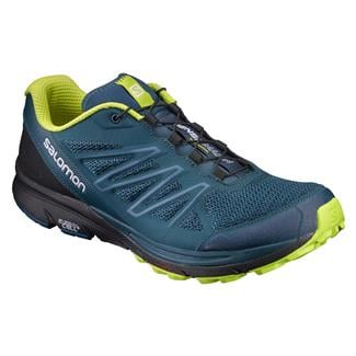Salomon Sense Marin Reflecting Pond / Black / Lime Punch