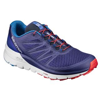 Salomon Sense Pro Max Blue Depths / White / Firey Red