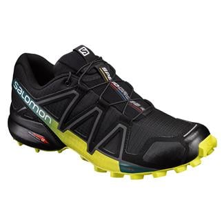 Salomon Speedcross 4 Black / Sulphur Spring