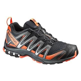 Salomon XA Pro 3D Black / Dark Cloud / Tomato Red