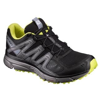 Salomon X-Mission 3 Black / Magnet / Sulphur Spring