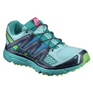 Salomon X-Mission 3 Aruba Blue / Navy Blazer / Green Flash