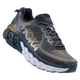 Hoka One One Arahi Midnight Navy / Metallic Gold
