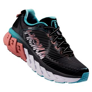 Hoka One One Arahi Black / Peach Amber