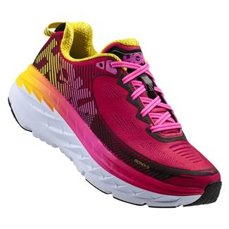 Hoka One One Bondi 5 Virtual Pink / Blazing Yellow