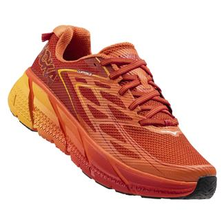 Hoka One One Clifton 3 Red Orange / Formula One / Gold Fusion