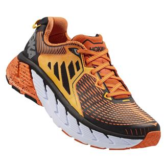Hoka One One Gaviota Red Orange / Gold Fusion