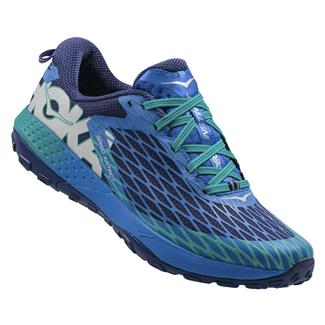 Hoka One One Speed Instinct Blue / Tropical Green