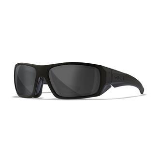 Wiley X Enzo Matte Black (frame) - Black Ops Gray (lens)
