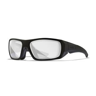 Wiley X Enzo Gloss Black (frame) - Clear (lens)