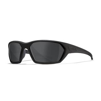 Wiley X Ignite Matte Black (frame) - Black Ops Gray (lens)