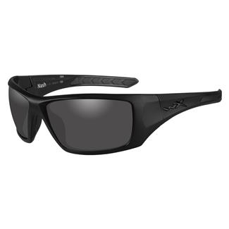 Wiley X Nash Matte Black (frame) - Polorized Gray (lens)