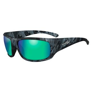 Wiley X Omega Kryptek Neptune (frame) - Polorized Emerald Green Mirror (lens)