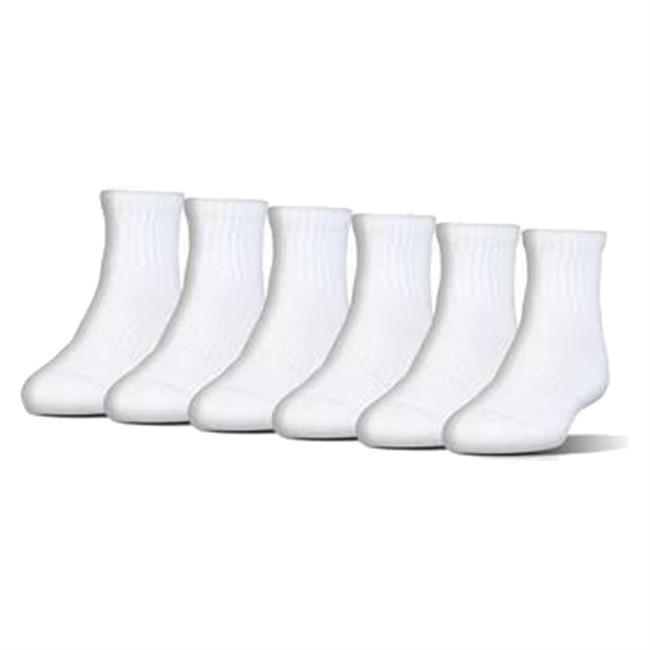 under armour quarter socks. under armour charged cotton 2.0 quarter socks - 6 pack