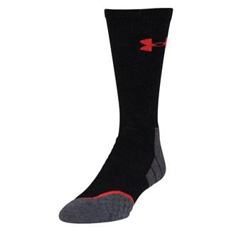 Under Armour AllSeason Wool Boot Socks Black