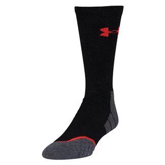 Under Armour AllSeason Wool Boot Socks Black