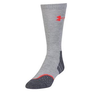 Under Armour AllSeason Wool Boot Socks True Heather Gray