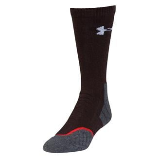 Under Armour AllSeason Wool Boot Socks Maverick Brown